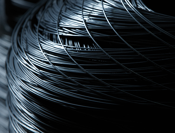 Image of coiled cold heading wire