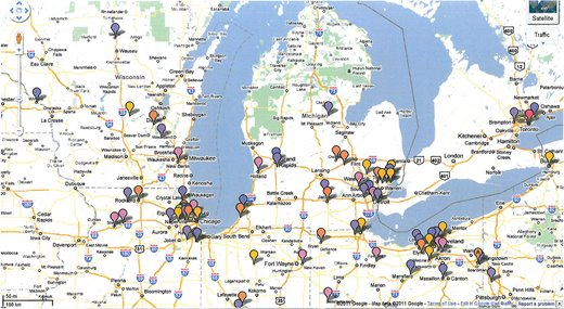Full-Service Steel Supplier in Sterling Heights, MI | Beta Steel - map1new